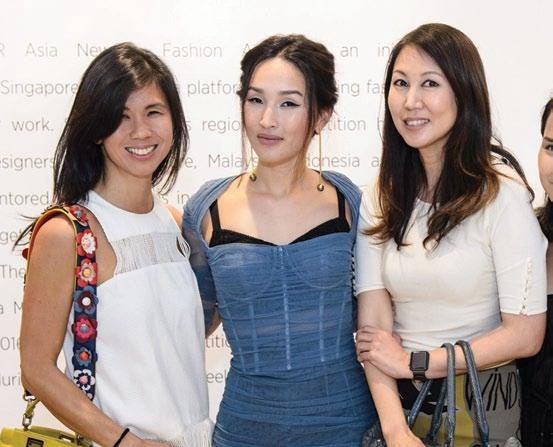 Clara Goh, Nicole Warne and June Rin