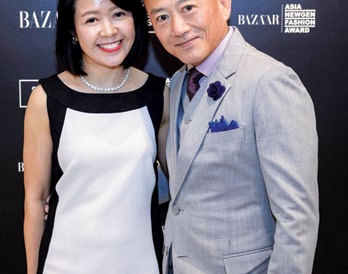 Chloe Chai and Goh Bock Seng