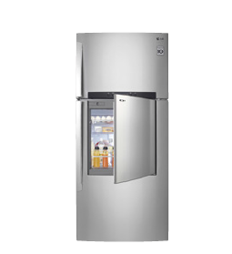 DOOR - IN - DOOR SERIES BY LG LG's door-in-door series allows users to reach for their food and snacks without having to open the main refrigerator compartment. This feature provides a smarter way of organising your food, and prevents too much cold air from escaping, allowing food inside to be kept fresher for longer. LG Door-in-Door refrigerators are available at Courts, Gain City, Harvey Norman, and other LG authorised retailers.