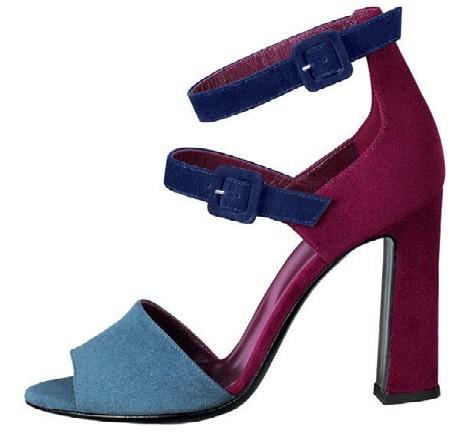 Suede goatskin sandal, $1,150