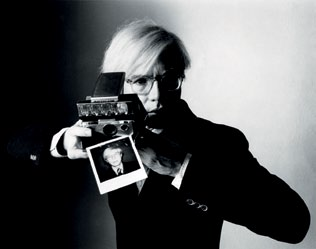 Andy Warhol by Oliviero Toscani
