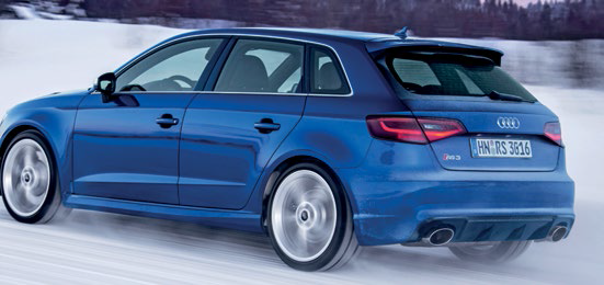 RS3 impresses with its exceptional engine, strong performance and awesome all-weather poise.