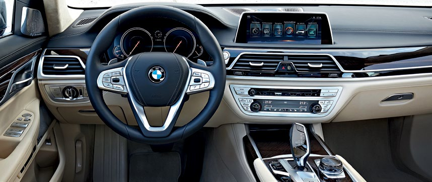 The layout would be familiar to Bimmer drivers, but the sky-high quality, advanced amenities and ultrasophisticated technology wouldn't be.