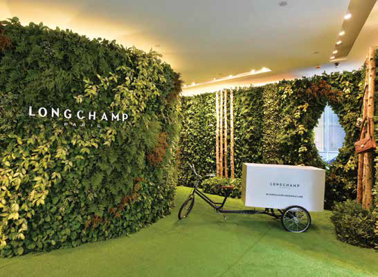 1. Longchamp launches its fall/winter collection