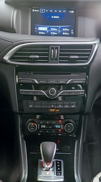 Ex-Merc controls and dated in-dash graphics are offset by superb equipment, classy materials and solid construction.