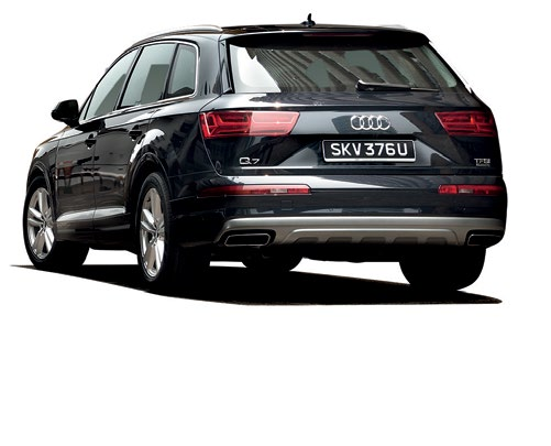 The x5 is the most car-like to drive, the xc90 is the most secure, while the q7 is the most refined.