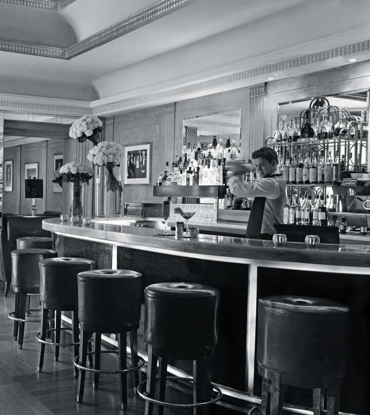 BLAST FROM THE PAST: Claridge's serves revamped classics as a nod to the past.