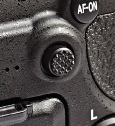 This tiny joystick lets you select the AF point while the camera is up to your face.