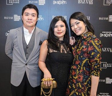 Shaun Tay, Marilyn Lum and Jade Kua