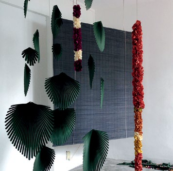 Yang's installation What A Wonderful World
