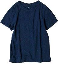 Zimbabwe cotton Indigo 45Star T-shirt, $190.