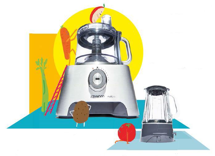 Kenwood Multipro Sense FPM810 Food Processor and Blender, $599, from major electrical stores.