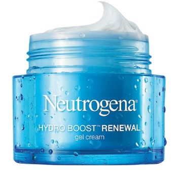 Hydro Boost Renewal Gel Cream, $29.90 for 50g, Neutrogena