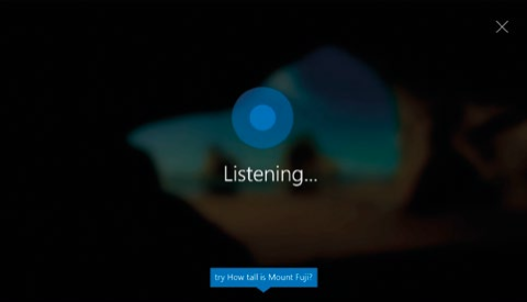 """Just say """"Hey Cortana"""" to activate the personal assistant on the lockscreen."""