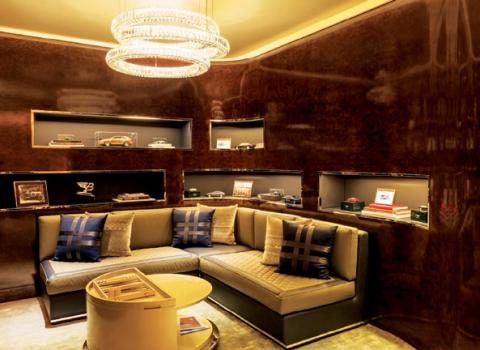 The Bentley Suite at the St. Regis Dubai
