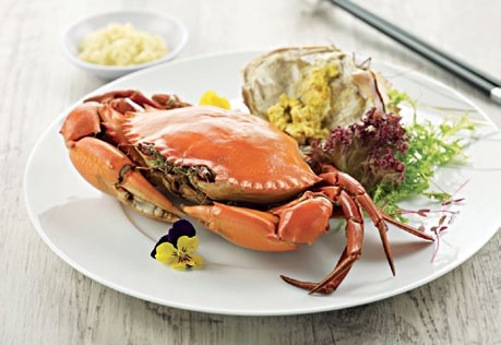 Teochew Style Chilled Yellow Roe Crab