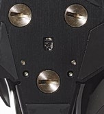 Adjustable weights are located at the bottom of the mouse.