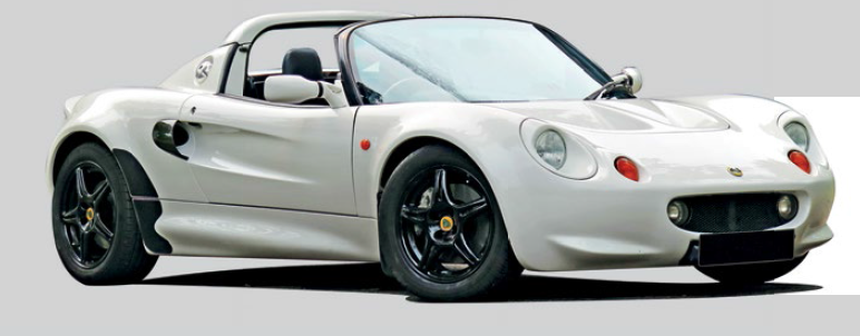 EDRIC THANKS HIS LITTLE LOTUS ELISE FOR THE MEMORIES BEHIND THE WHEEL.