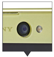 The XA Ultra's front 16MP camera has OIS and a dedicated LED flash!
