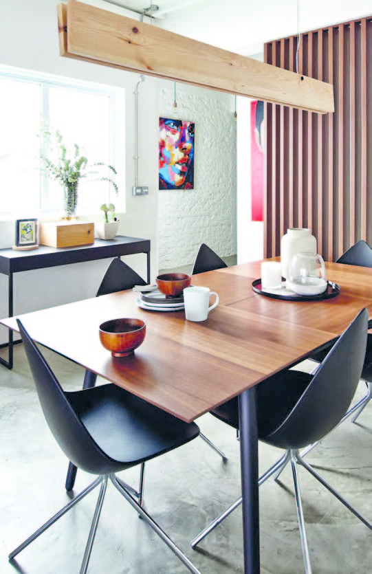 The Milano Extendable Table And Ottawa Dining Chairs, All From Boconcept,  Have A Contemporary