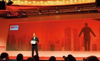 1. Dr. Christian Göke, CEO Messe Berlin opening speech at IFA 2016 GPC.