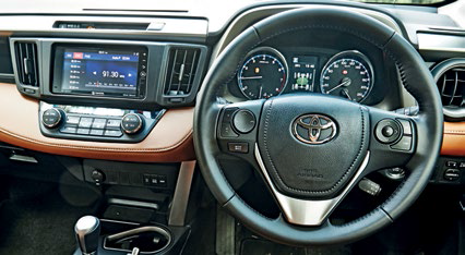 Steering wheel now has a handy D-pad for navigating through the instrument panel menus.