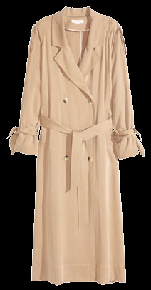Trench, $159, from H&M.