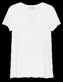 T-shirt, $80, from American Vintage.