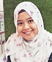 Amirah Binte Abu Samah, 21