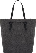 Felt with PU trim, $79.90, from Charles & Keith.