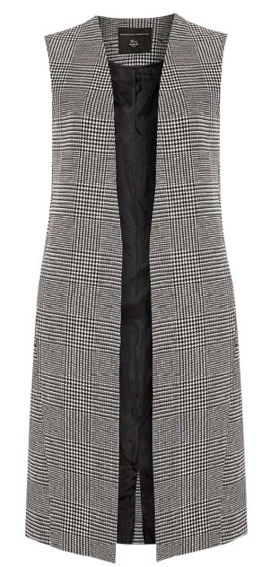 Vest, $116, from Dorothy Perkins.