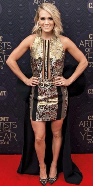Carrie Underwood in Temraza.