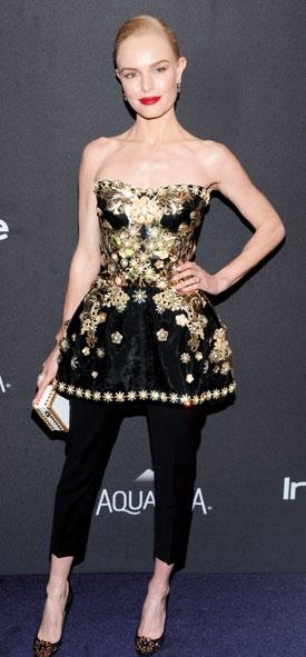 Kate Bosworth in Dolce & Gabbana.