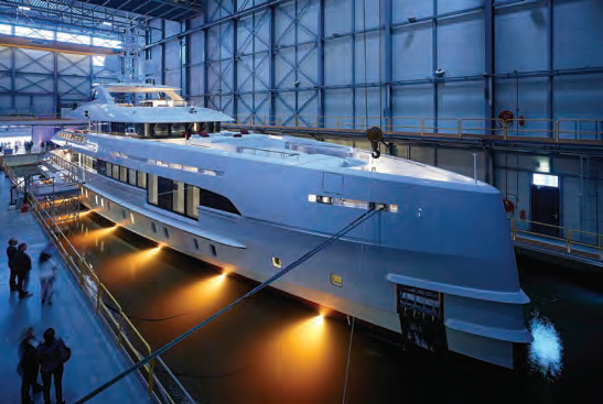 <b>CREDIT:</b> DICK HOLTHUIS / HEESEN YACHTS