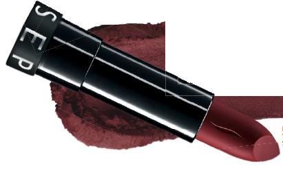 Velour Lovers Lip Colour in An Affair, $42, Laura Mercier, Rouge Matte in 18 Losing Control, $22, Sephora.
