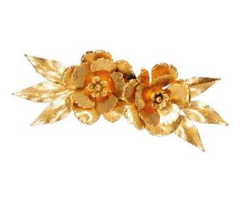 Jennifer Behr Rowena gold-plated hair slide, $179.
