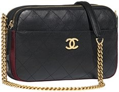 Calfskin Camera Case, $5,270, Chanel.