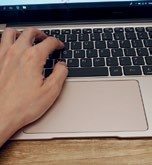 The unusually large trackpad seems cool, but actually gets in the way as your palms are almost always resting on it while using the notebook.