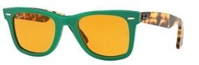 Acetate sunglasses, $325, Ray-Ban.