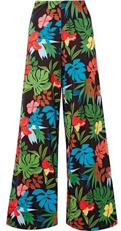 Silk pants, $560, Alice + Olivia.