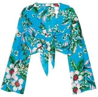 Cotton silk blouse, $230, Diane von Furstenberg.