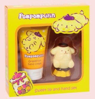 Guardian Pompompurin Sweet Lip and Hand Set, $15.90.