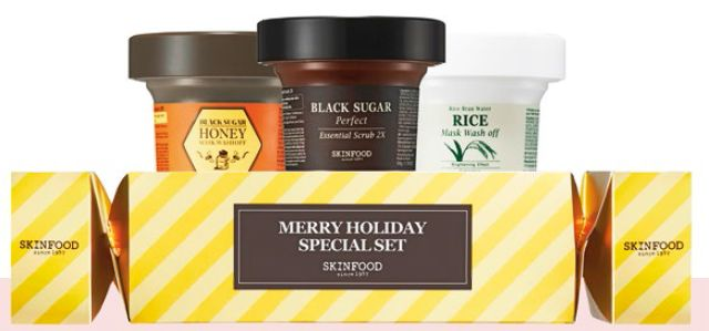 SkinFood Merry Holiday Special Set, $24.90.