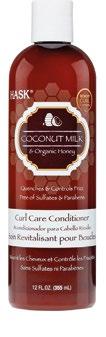 Hask Coconut Milk & Organic Honey Curl Care Conditioner, $16.90.