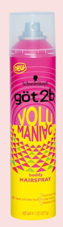 Got2B Volumaniac Bodify Hairspray, $11.50.