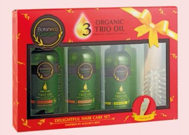 Botaneco Garden Organic Trio Oil Delightful Hair Care Ser, $15 90.