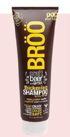 Broo Craft Beer Thickening Shampoo, $19.90.