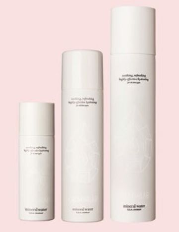 Cremorlab T.E.N. Cremor Mineral Water mist, $9.50 for 50ml, $18 for 120ml, $34 for 300ml.