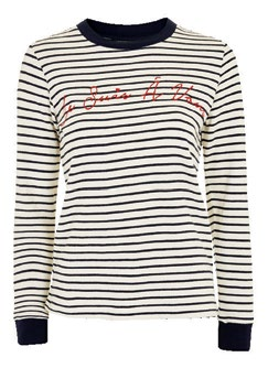Topshop striped long-sleeve tee, $46.90