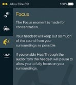 Four HearThrough modes are